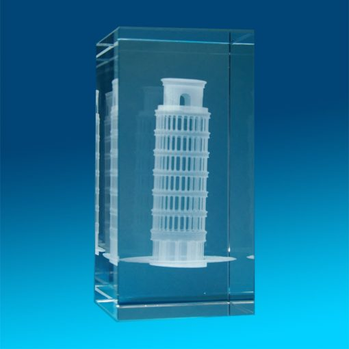 3D Crystal Photo Mega Tower 120 X 60 X 60