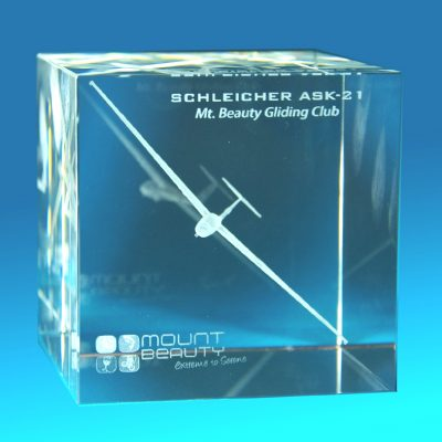 3D Crystal Photo Big Block 80 X 80 X 80