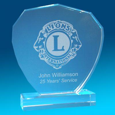 2D Winner Classic Award 152 X 152 X 20