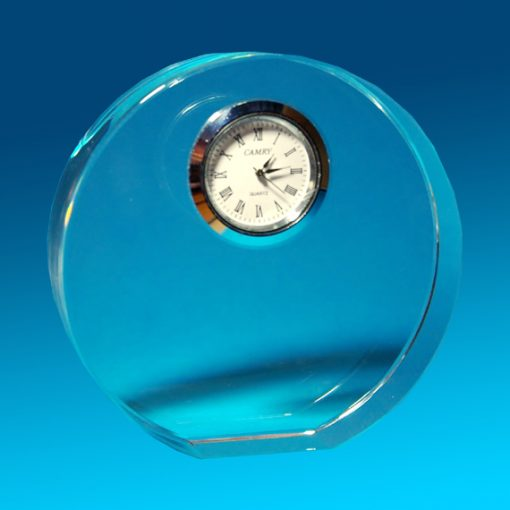 2D Crystal Full Circle with clock 102 X 30