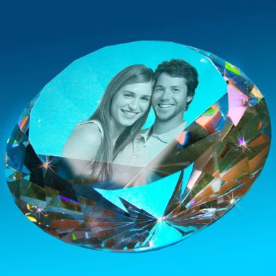 2D Crystal Photo Ultimate BLING 150 Diameter