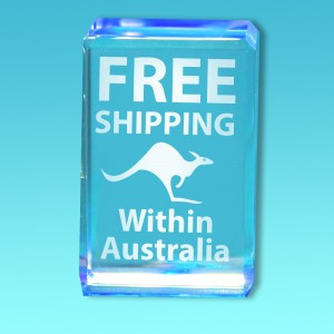 FREE SHIPPING 2D 3D Crystal Photo Images