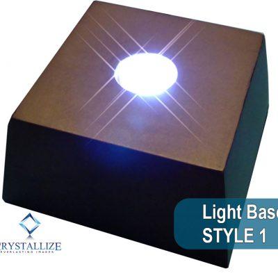 Crystal Photo Light Base Style 1