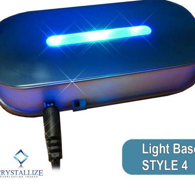 Crystal Photo Light Base Style 4