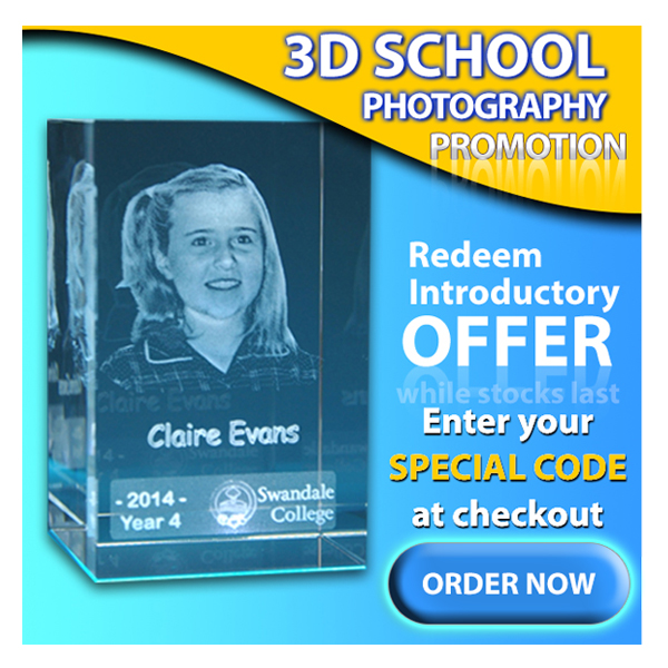 3D School Crystal Promotion